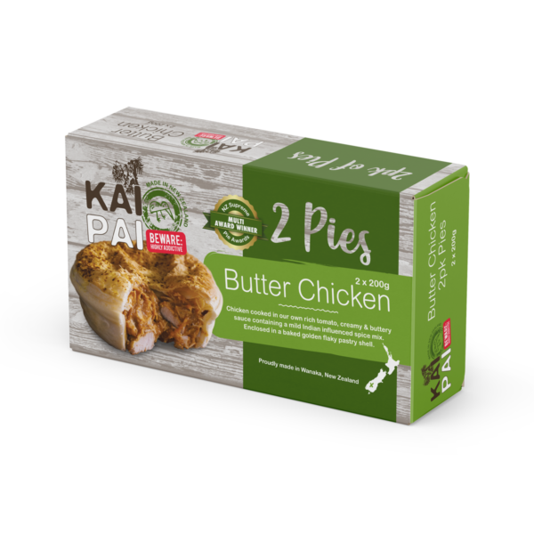 Butter Chicken Pie 2 Pack