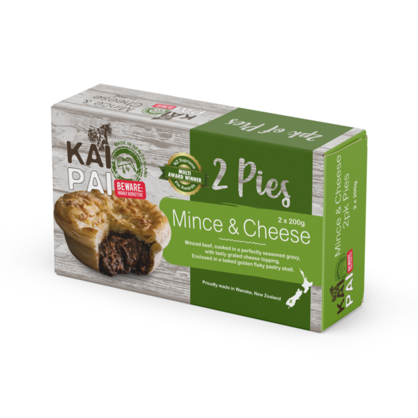 Mince & Cheese Pie 2 Pack