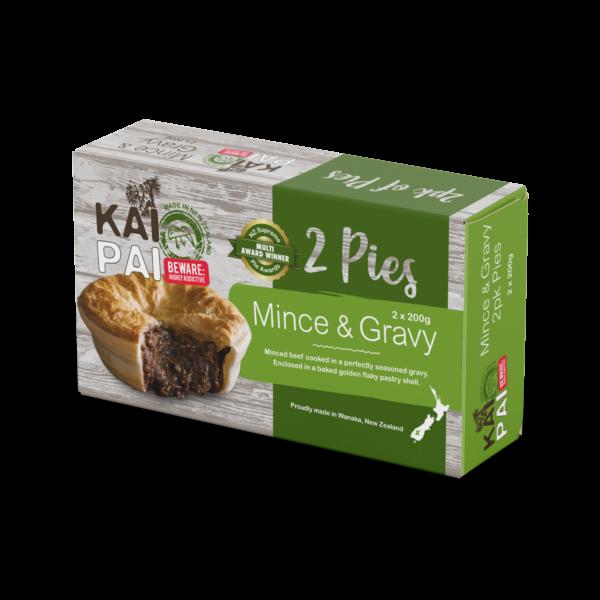 Mince & Gravy Pie 2 Pack